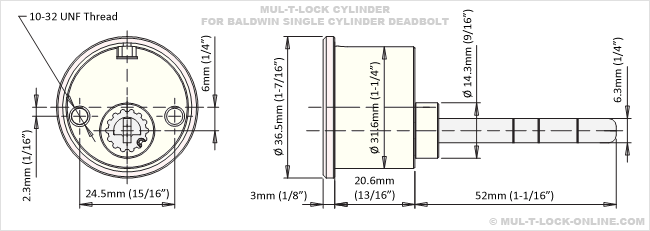 Mul T Lock Online Mul T Lock Mt5 Cylinder For Baldwin